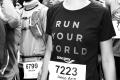 MARATHON MÜNCHEN 2017 SUGAR & PAIN TEAM Run Four Good mit Speed, Spirit und viel Spass / Jamie aufgeregt © Stefan Drexl