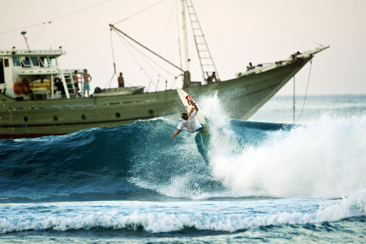 Interview mit Next Generation Surfer Julian Wilson, Scratching the Surface