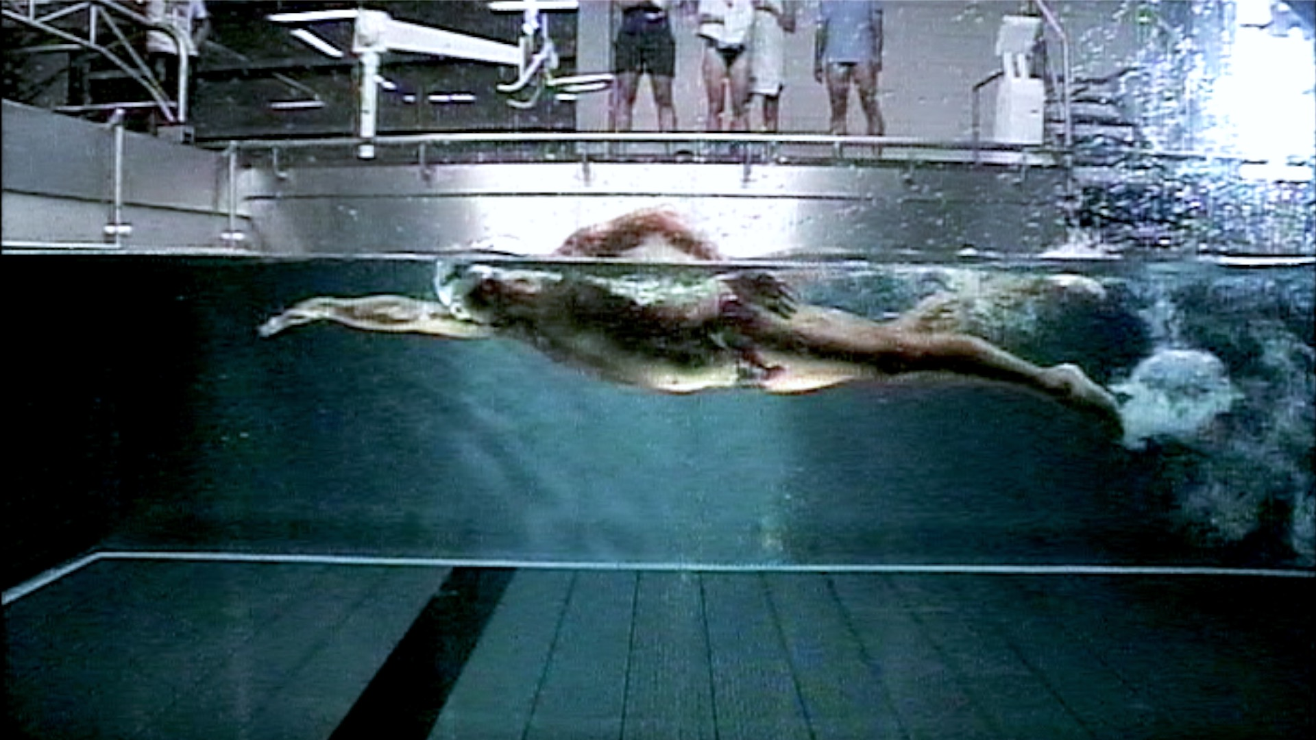 THE COUNTER FLOW: Schwimmanalyse im Schwimmkanal