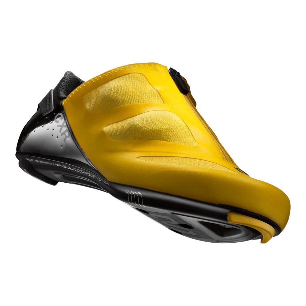 Durch einzigartiges Material und Konstruktion maximiert der Mavic RennradSchuh Komfort und Kraftübertragung und besticht nebenbei mit Atmungsaktivität und Leichtgewichtigkeit. Mit diesen Radschuhen sparst Du vor allem Energie bei maximaler Leistung in der Druck- und Zugphase.