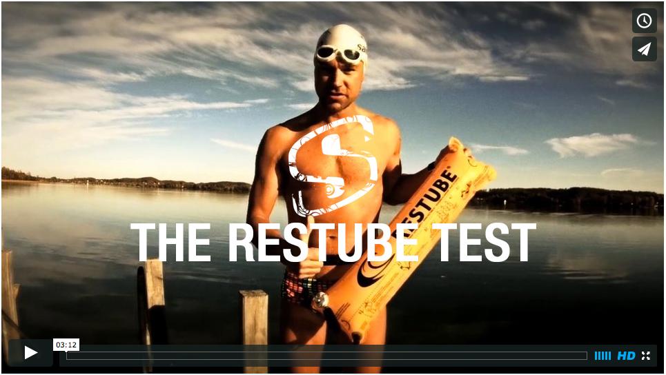 THE RESTUBE OPEN WATER TEST: Sicherheit im Freiwasserschwimmen für Triathlon