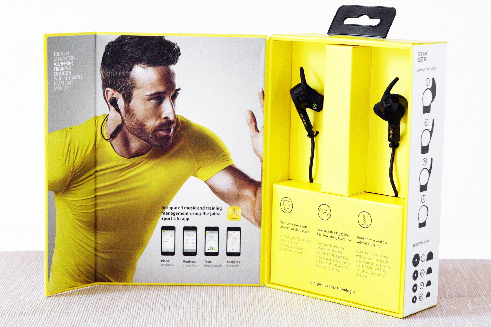 Jabra Sport Pulse Wireless - edel verpackt