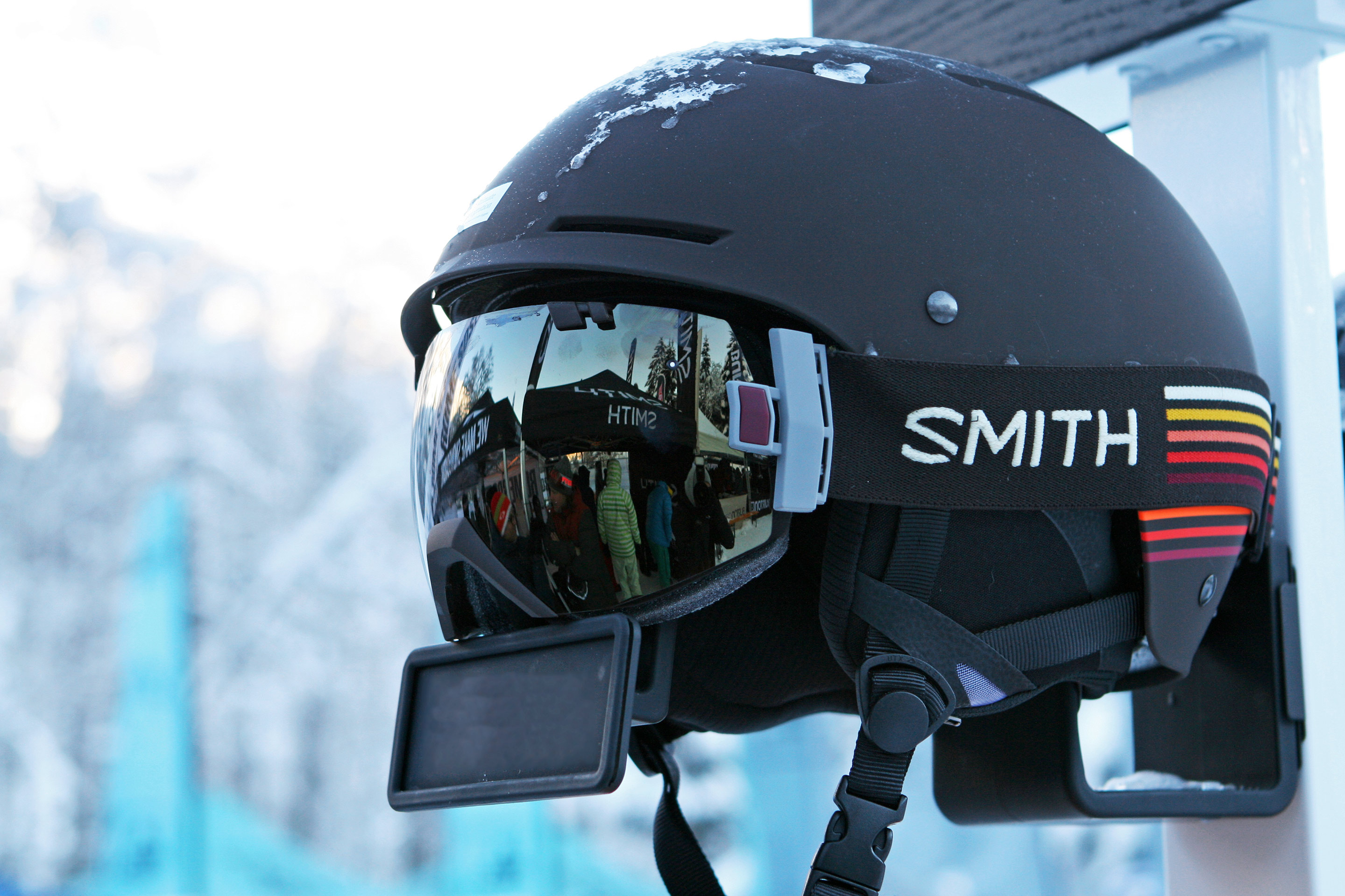Shops 1ST Try 2016: SMITH Pivot Helm © Stefan Drexl
