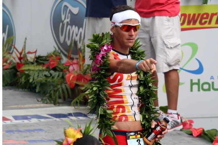 Andreas Raelert, Vizeweltmeister, 2010 nur knapp geschlagen hinter Chris McCormack, Ironman Hawaii 2010 © stefandrexl.de
