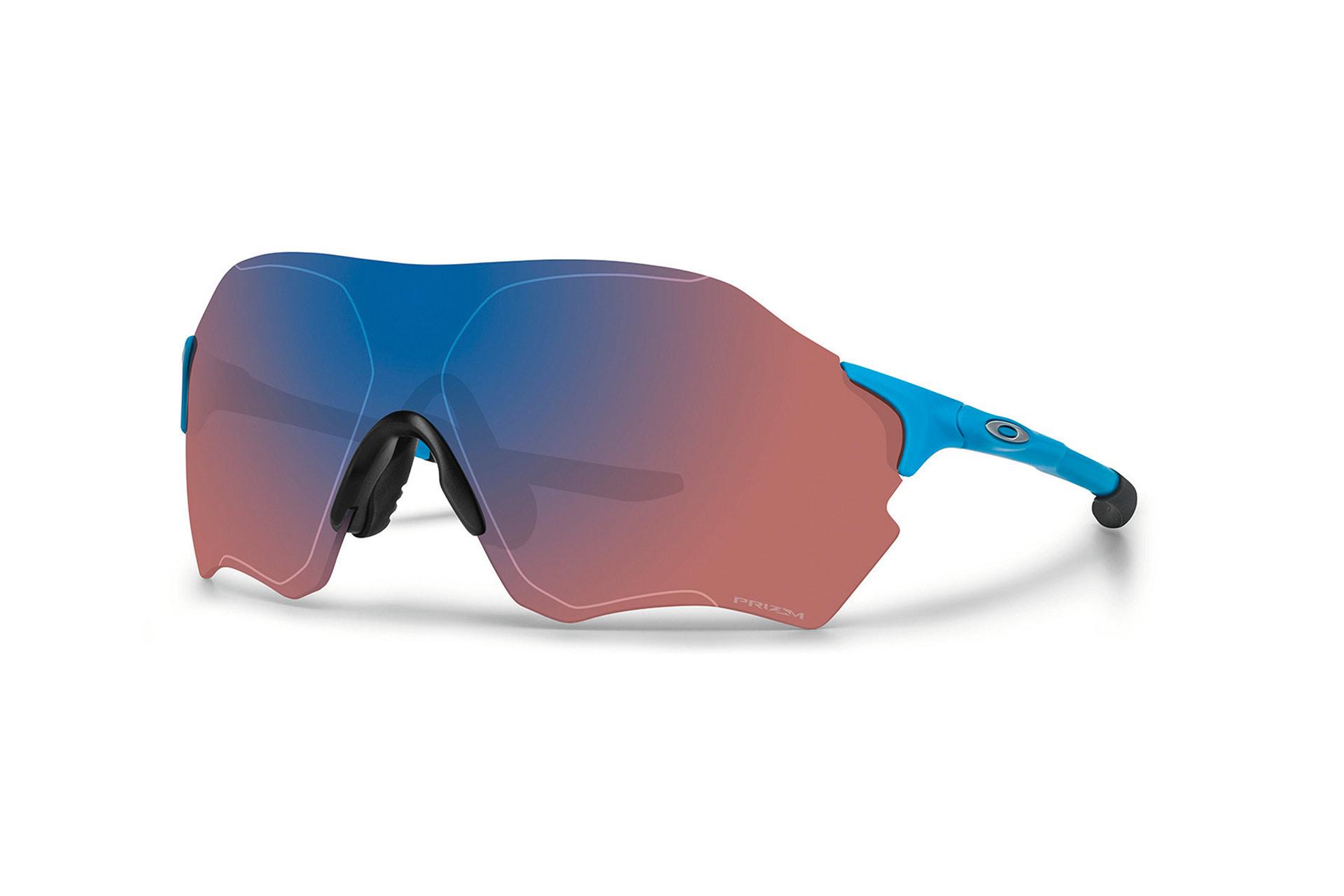 OAKLEY EVZero Range (24g) in matte skyblue prizm trail – grössere Scheibe für ein erweitertes Blickfeld