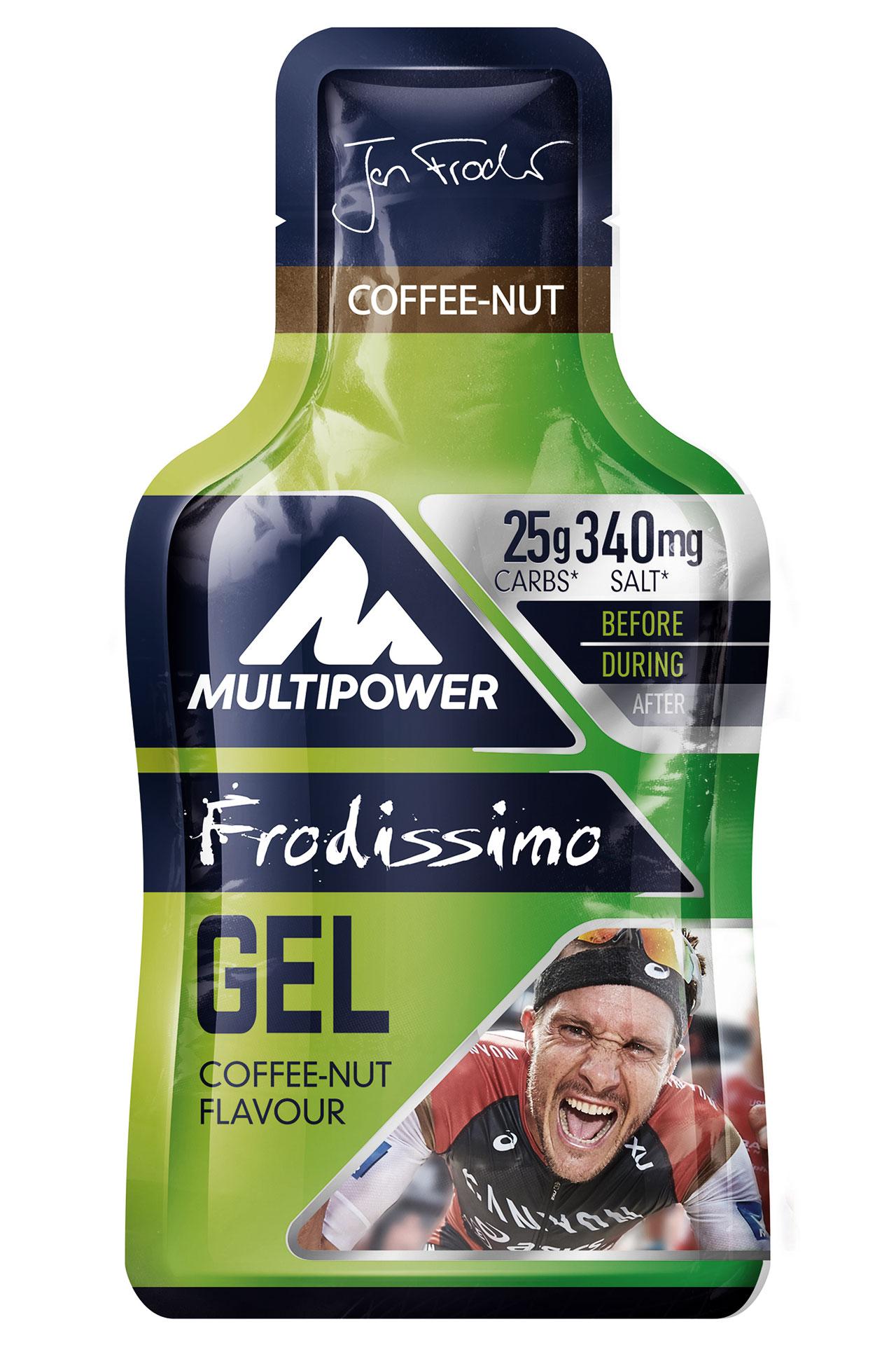 KOFFEIN IM BLUT Espresso to Ride - Multipower Gel Frodissimo Coffee Nut © Multipower