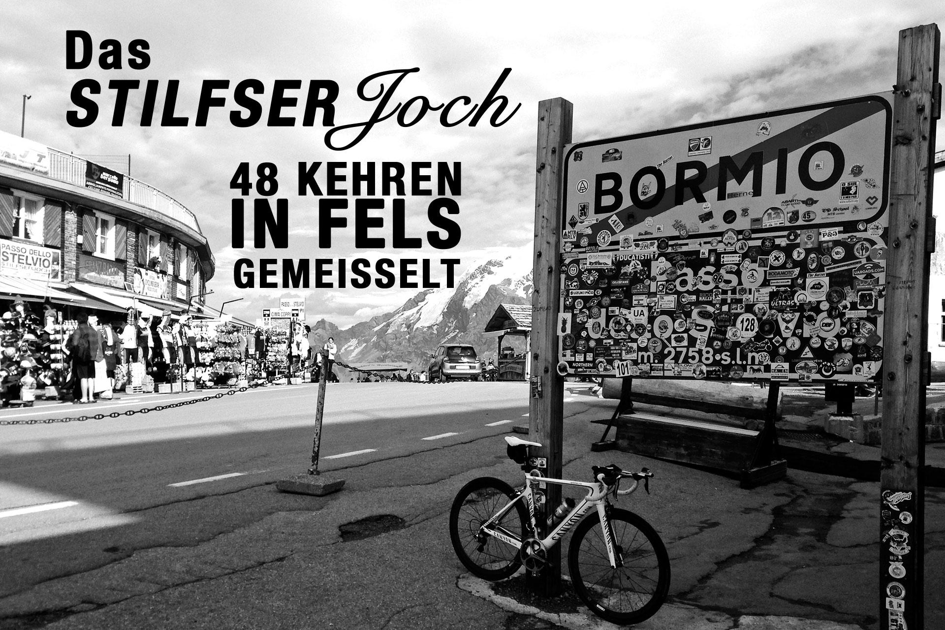 DAS STILFSER JOCH 48 Kehren in Fels gemeisselt TITEL © stefandrexl.de