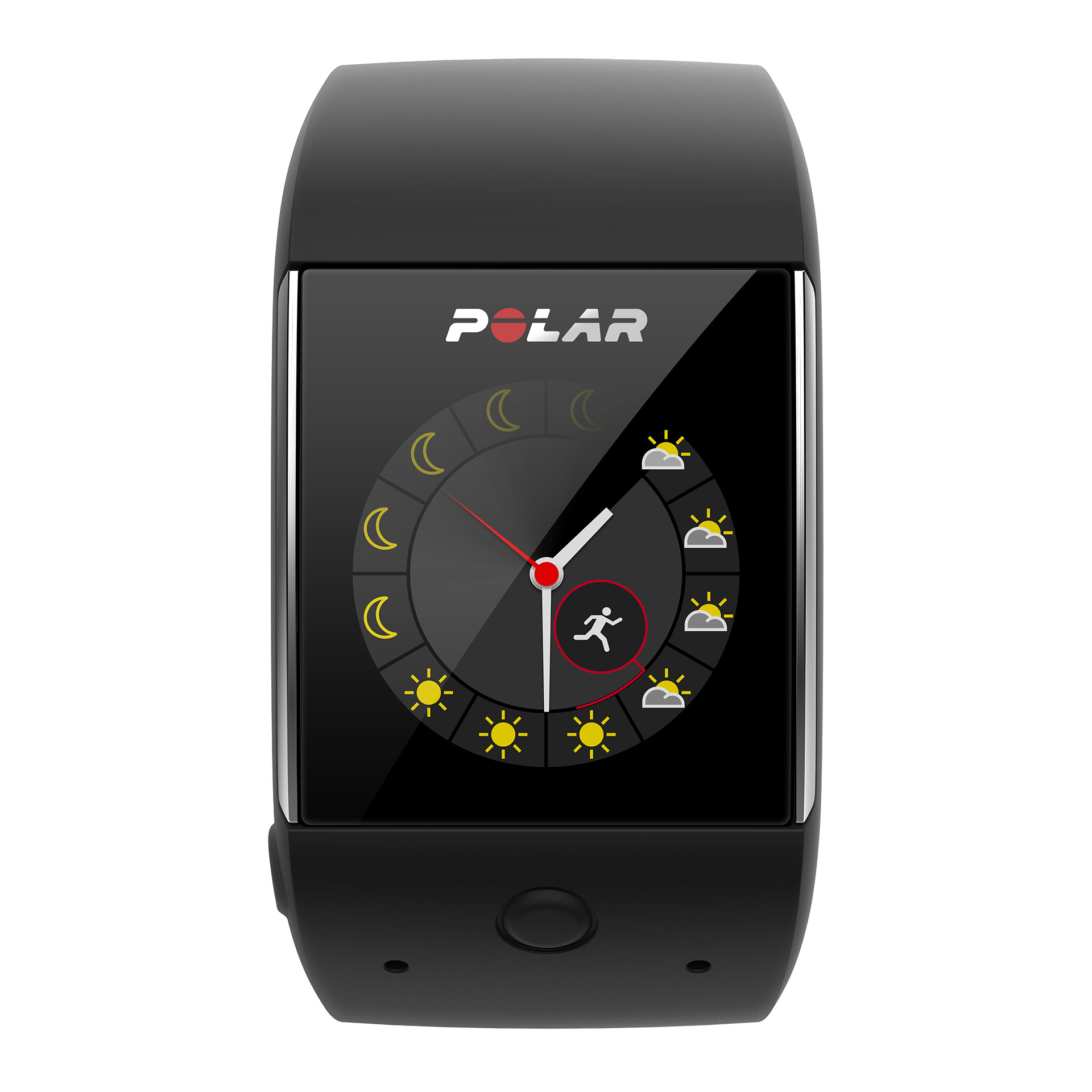 POLAR M600 SMARTWATCH: Mehr Lifestyle, mehr Sport, mehr LEDs / Aktuelle Wetterdaten für den ganzen Tag