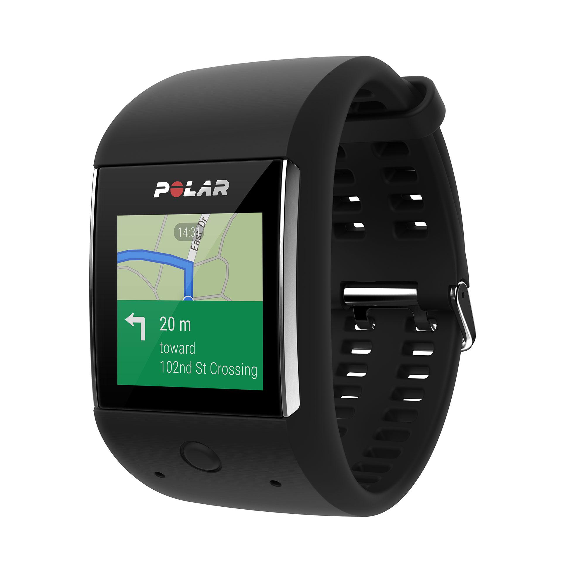 POLAR M600 SMARTWATCH: Mehr Lifestyle, mehr Sport, mehr LEDs / GPS Tracking mit Kartenansicht