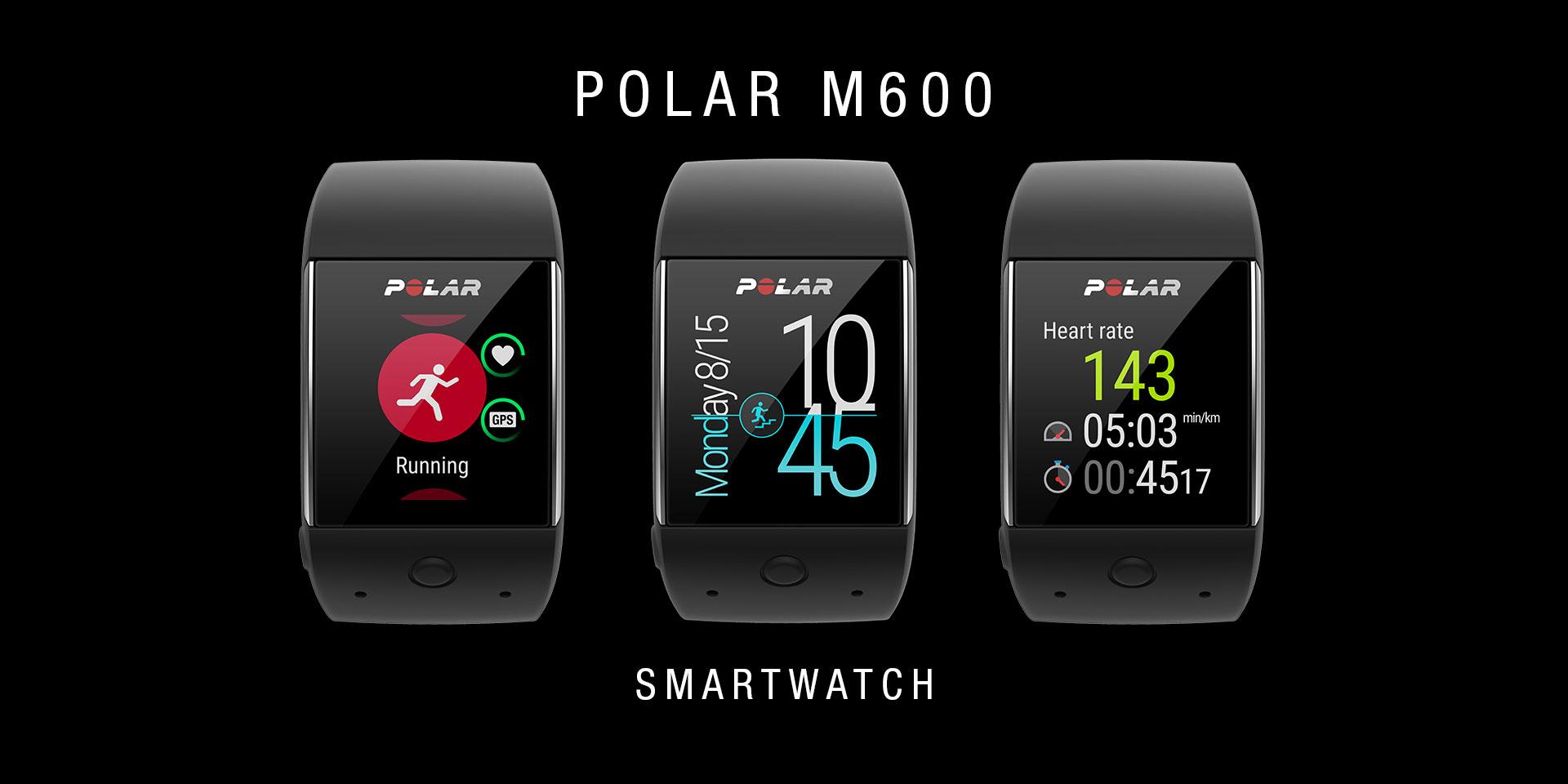 POLAR M600 SMARTWATCH: Mehr Lifestyle, mehr Sport, mehr LEDs
