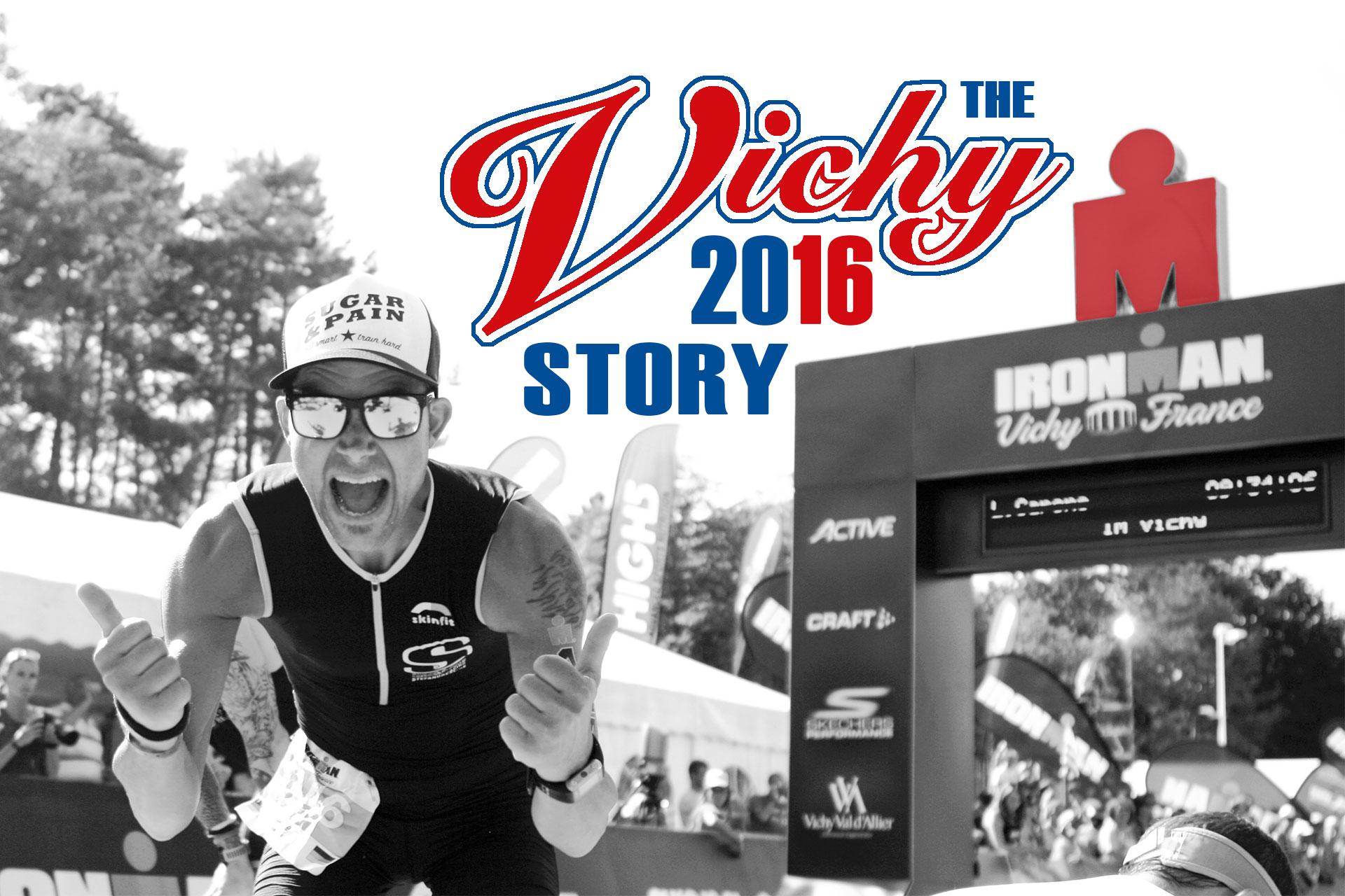 IRONMAN VICHY 2016 The Story: Ein echter Erfolg mit virtuellen Nebenwirkungen / Titelbild ©stefandrexl.de