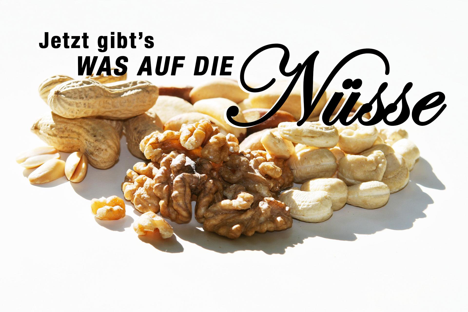 Jetzt gibt's was auf die Nüsse – Gesunde knackige Schnellmacher © stefandrexl.de