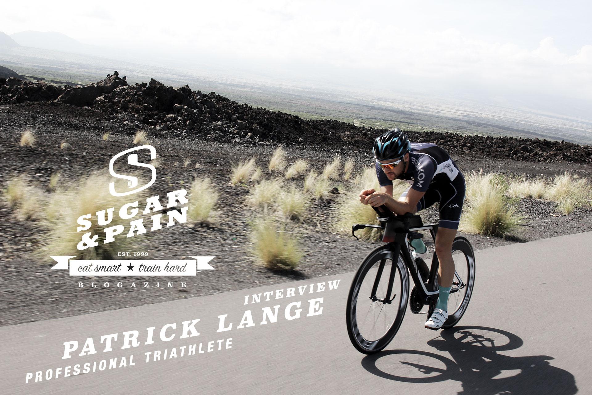 """INTERVIEW PATRICK LANGE """"Triathlon bis ich Hawaii gewinne"""" / Vor dem 8. Oktober 2016 kannte kaum jemand Patrick Lange bis sich der deutsche Rekordzeit auf's Podium von Kona katapultierte."""