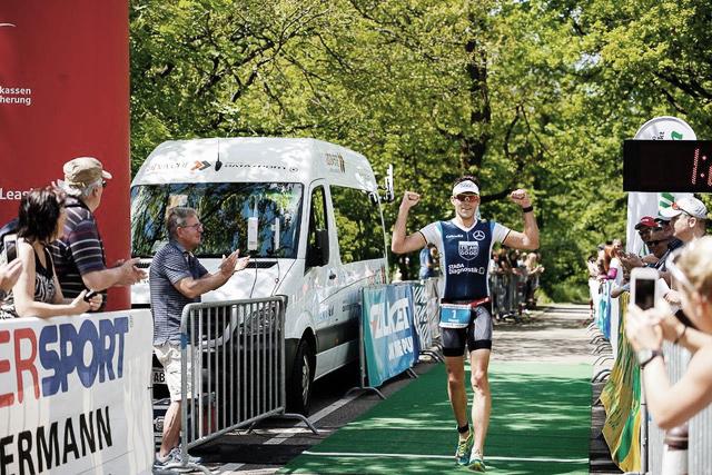 INTERVIEW HORST REICHEL Mehr Mokka, mehr Bike! / Es war ein Start-Ziel-Sieg im Triathlon Heidessee 2017 für Horst Reichel in Forst