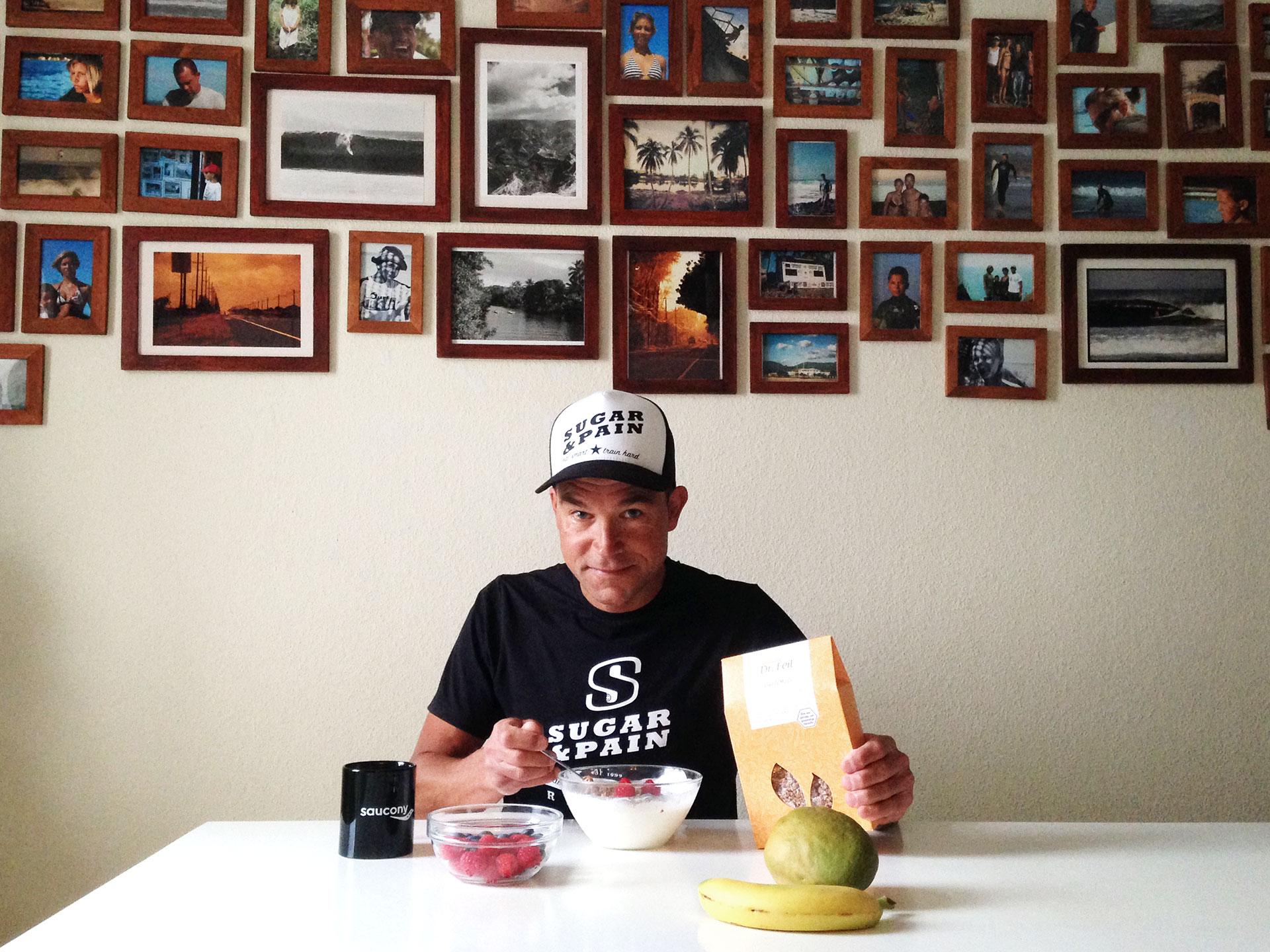 IRONMAN VICHY 2017 The Making of an Ironman Triathlete / Mit einem professionellen Triathlon Coach, der richtigen Trainingsplanung und Ernährung wird der Erfolg eines Ironmans kein Zufall © Stefan Drexl