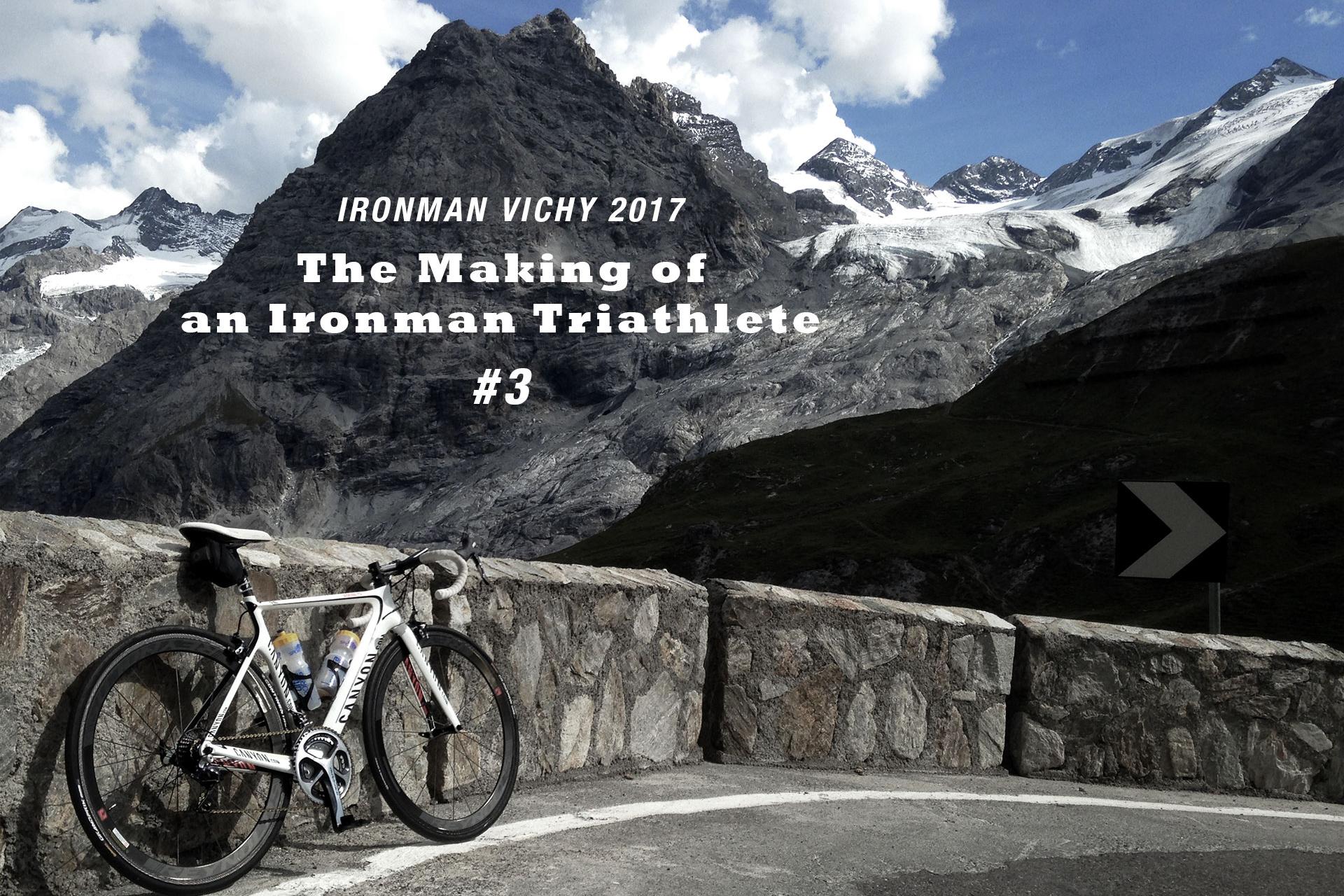 IRONMAN VICHY 2017 The Making of an Ironman Triathlete #3 / Spektakuläres Panorama von Südflanke des Stilfser Jochs auf das Ortler Massiv © Stefan Drexl