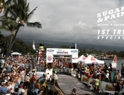 SUGAR & PAIN COACHING 1ST TRY Special 50FIFTY Season Starter / Your next triathlon season campaign could start now here and might finish one time there – the Finishline of Ironman Hawaii on Ali'i Drive of Kailua Kona © stefandrexl.com
