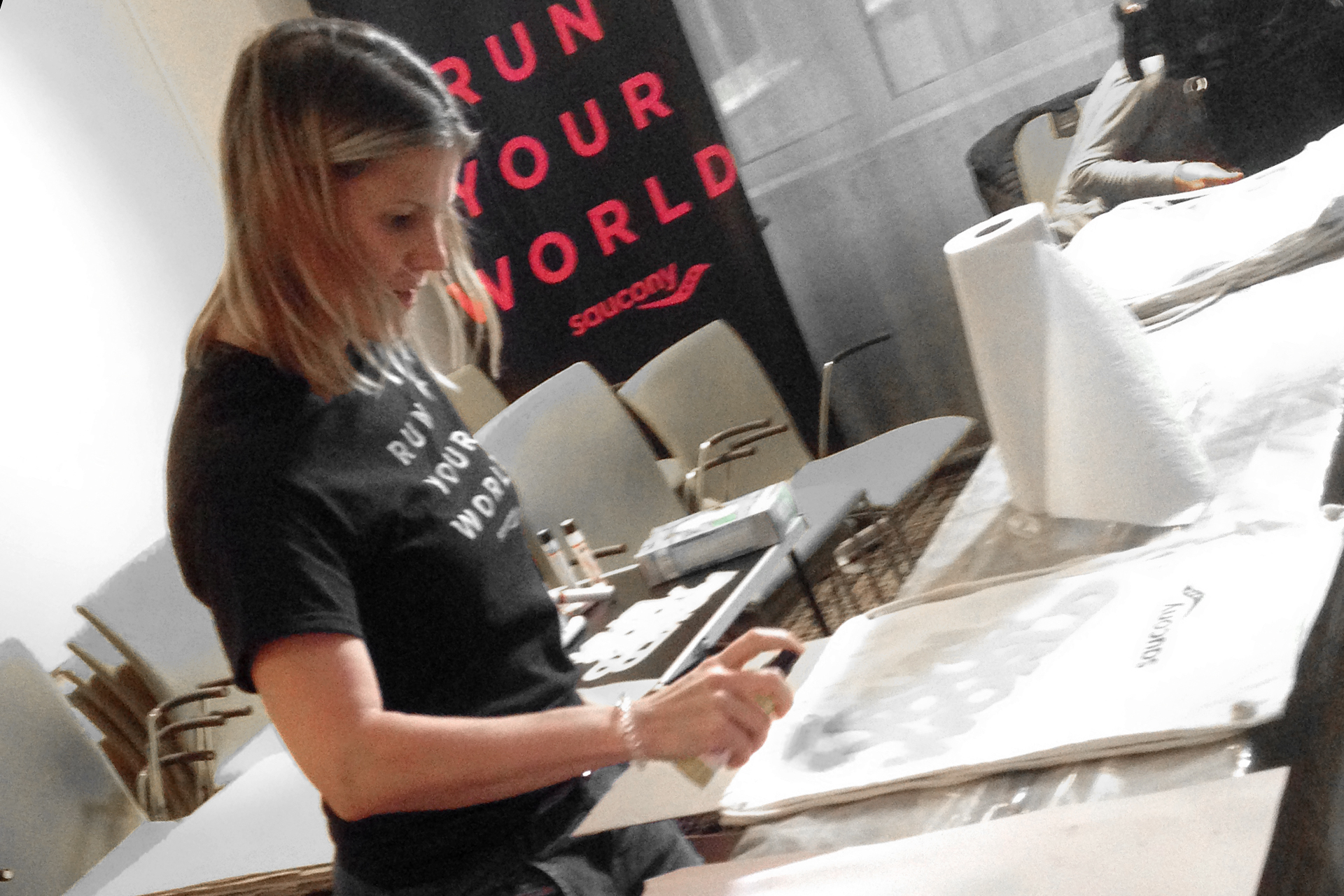 MARATHON KÖLN 2017 Run Your World alaaf / In Sachen Inspiration und Kreativität kennt Claudia Niemeyer, PR Managerin sich aus © Stefan Drexl