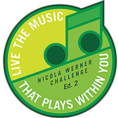 Nicola Werner Challenge Ed.2 / LIVE THE MUSIC THAT PLAYS WITHIN YOU © Moritz Werner