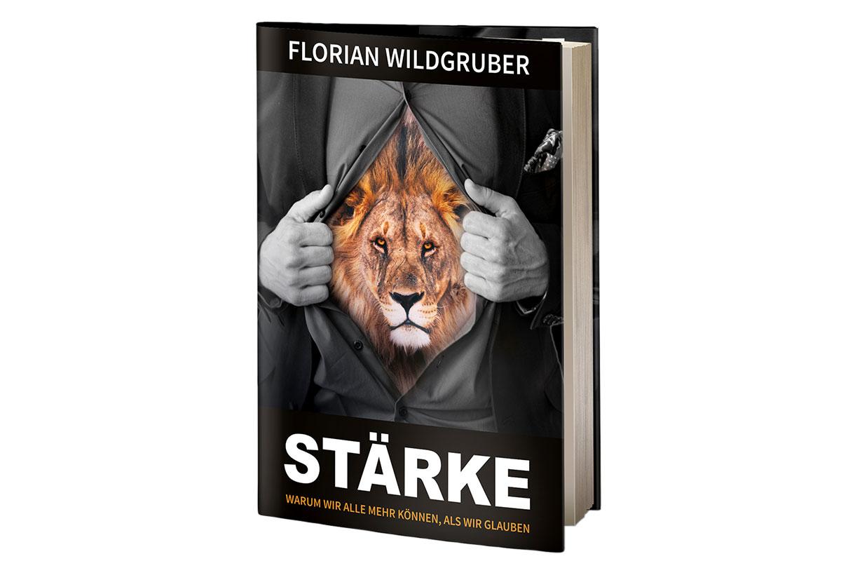 """INTERVIEW FLORIAN WILDGRUBER Warum wir alle mehr können ... 1/3 / """"STÄRKE - Warum wir alle mehr können, als wir glauben"""", das Buch © stefandrexl.com"""