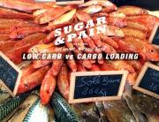 LOW CARB VS CARBO LOADING Weniger ist mehr gesunde Leistung © stefandrexl.com