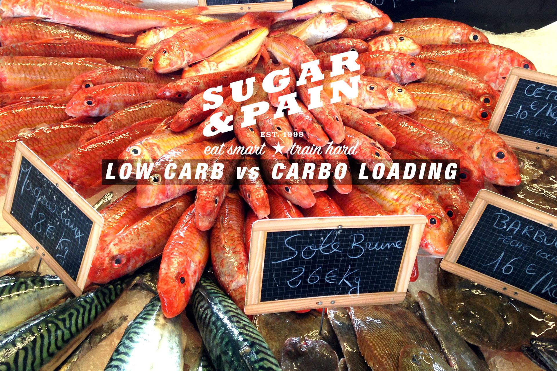 LOW CARB vs CARBO LOADING Weniger ist mehr gesunde Leistung