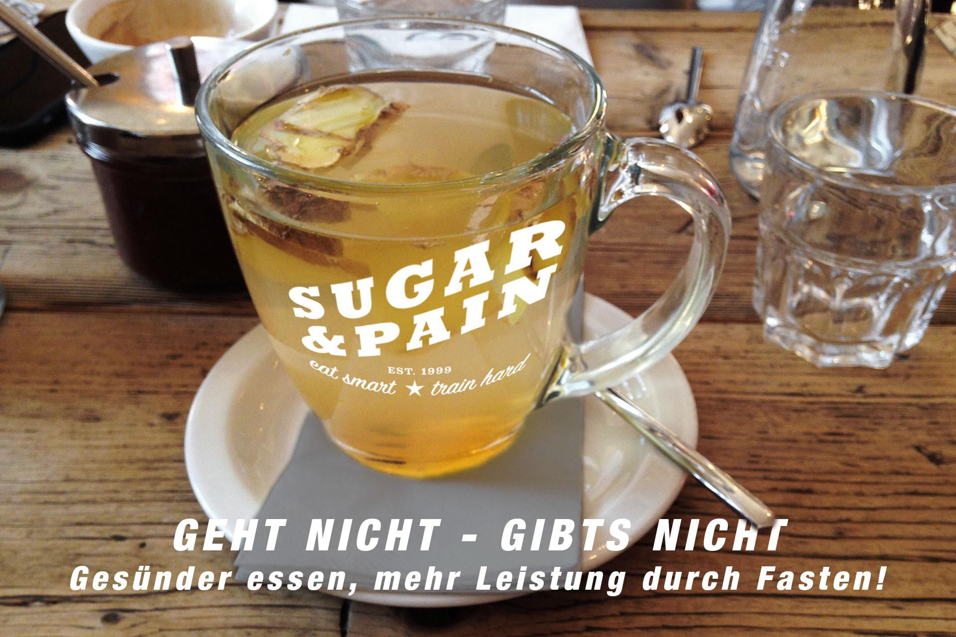 GEHT NICHT - GIBTS NICHT Gesünder essen, mehr Leistung durch Fasten! © stefandrexl.com