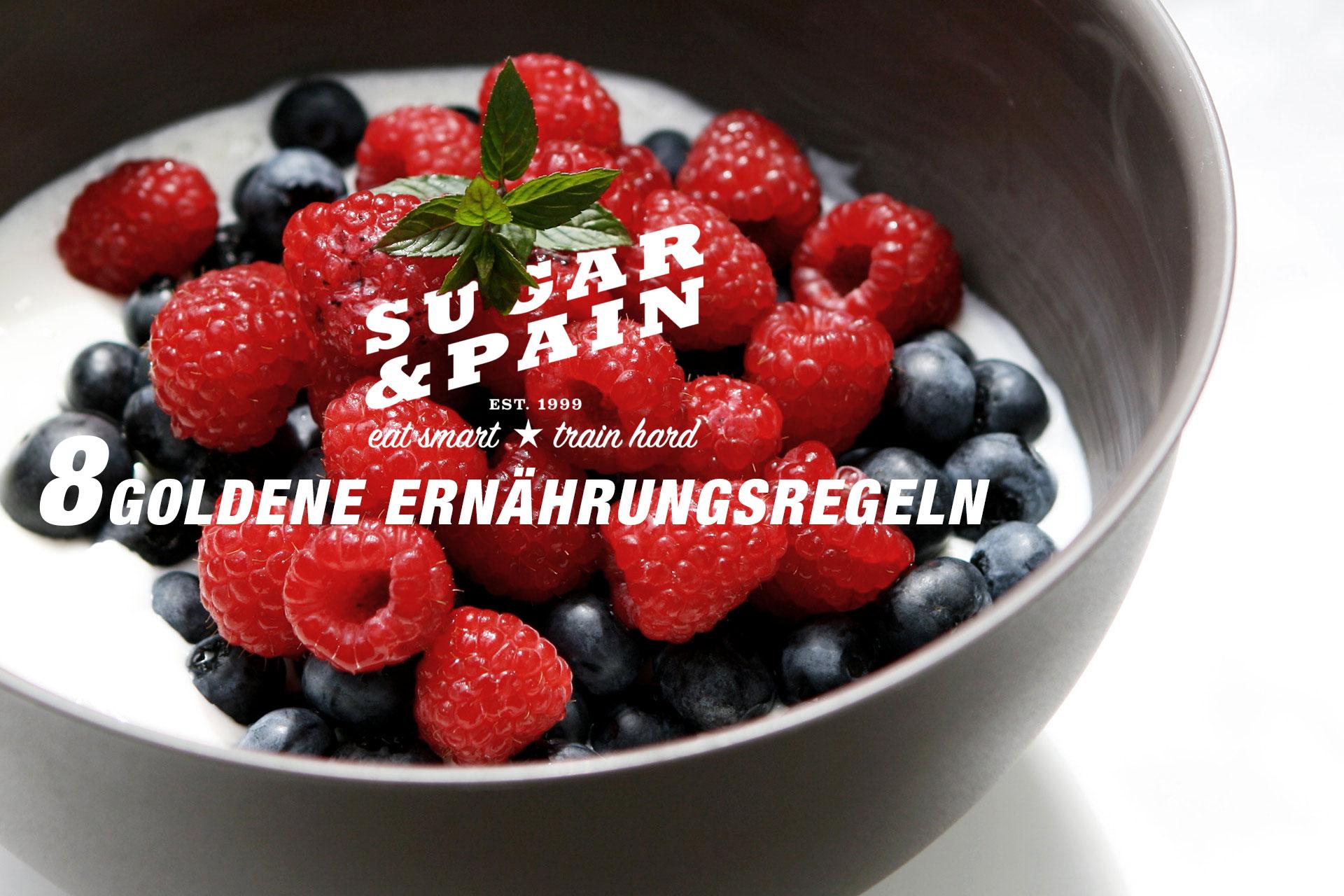 GESUNDHEIT UND LEISTUNG 8 Goldene Ernährungsregeln / Beerig dunkel für's Immunsystem © stefandrexl.com