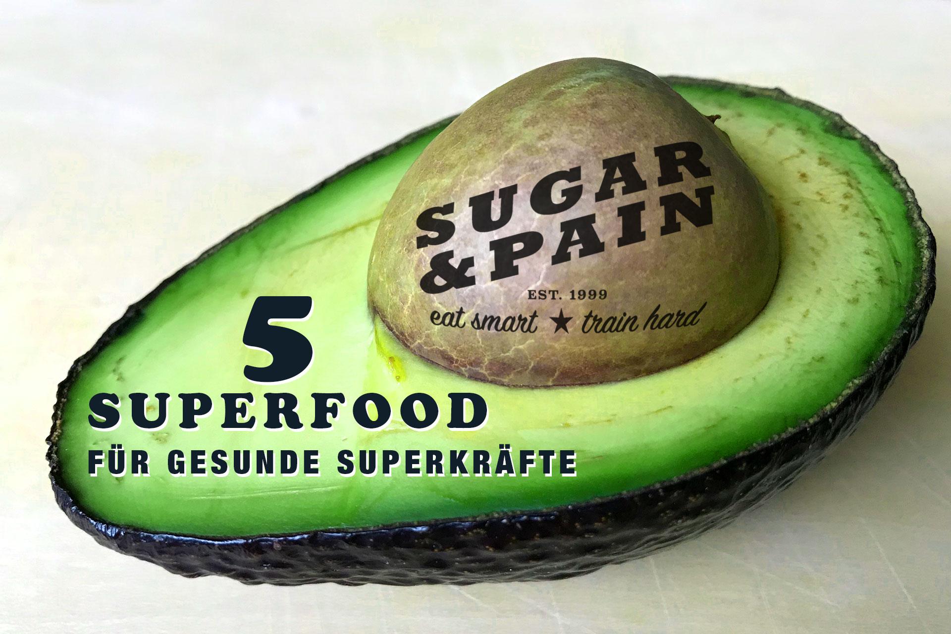 ERNÄHRUNG UND GESUNDHEIT 5 Superfood für gesunde Superkräfte