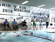 8. SWIM 'N' RUN MÜNCHEN / Samstag, 17. März 2018 / Große Begeisterung bei Athleten und Helfern © stefandrexl.com