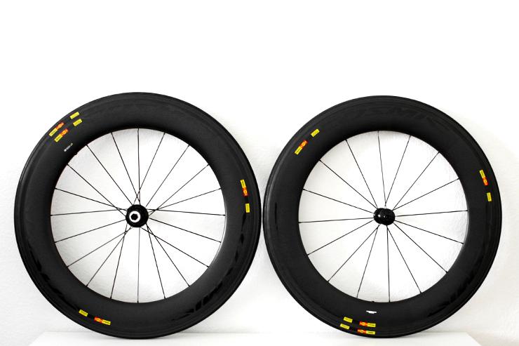 MAVIC COSMIC CXR 80 T Laufrad-Reifen-Kombination für mehr Aerodynamik / Produkttest / 01 © Stefan Drexl