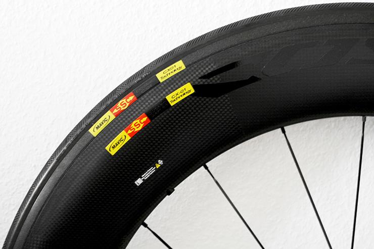 MAVIC COSMIC CXR 80 T Laufrad-Reifen-Kombination für mehr Aerodynamik / Produkttest / 02 © Stefan Drexl