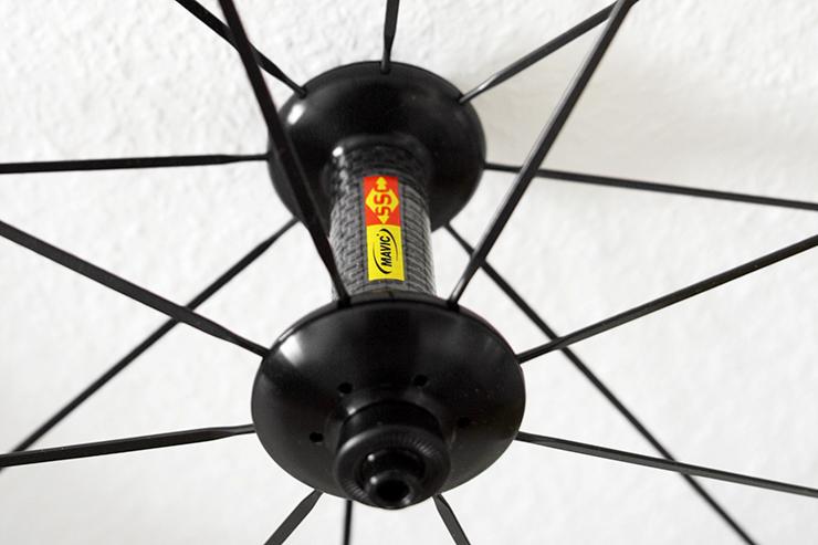 MAVIC COSMIC CXR 80 T Laufrad-Reifen-Kombination für mehr Aerodynamik / Produkttest / 04 © Stefan Drexl