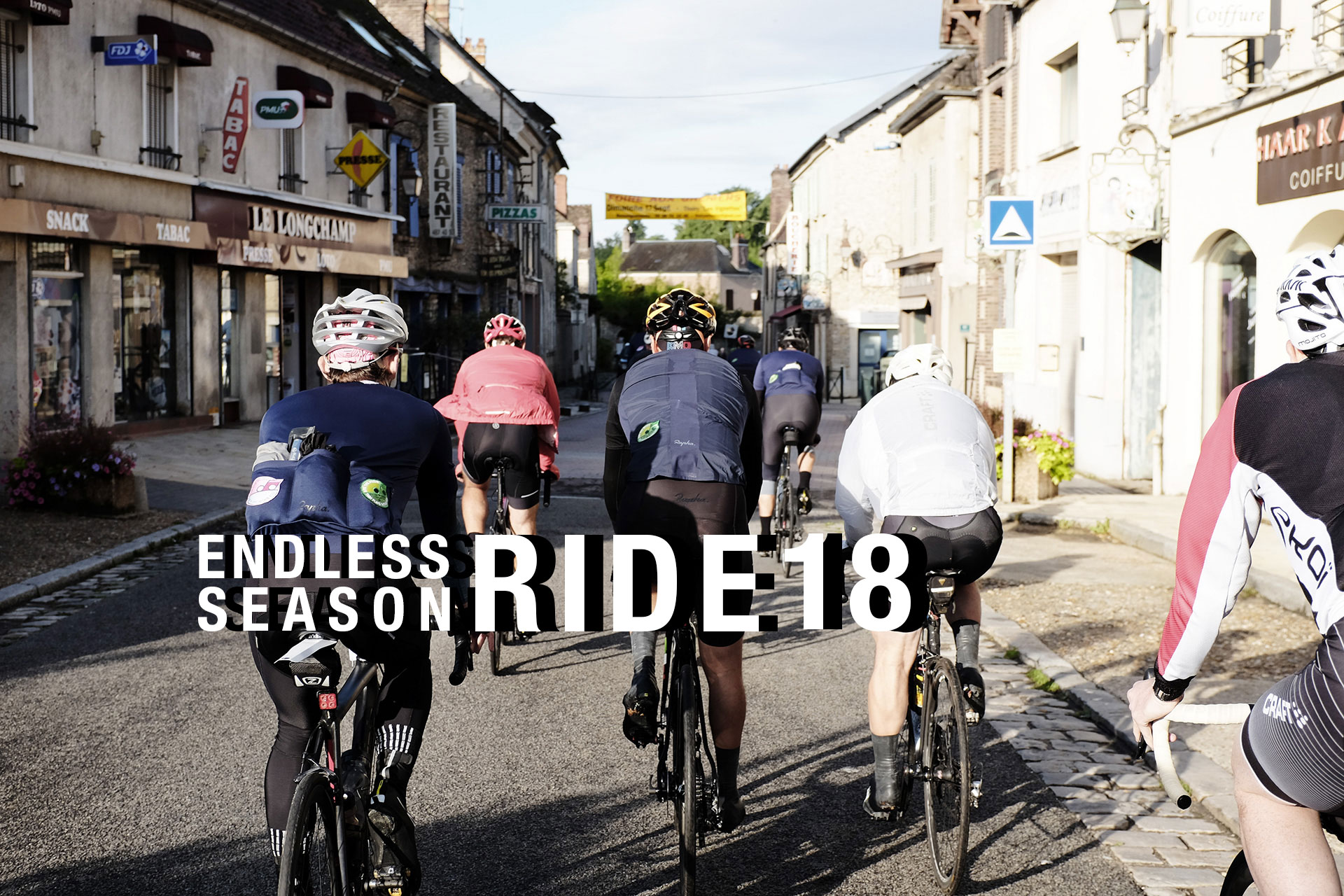 SUGAR & PAIN ENDLESS SEASON RIDE 2018 © Jochen Hoops / Creative Hub Paris