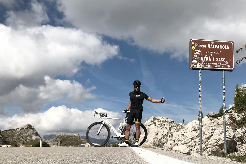 PAPA IS A RIDING STONE Mit dem Rennrad über Stelvio, Sella und Valparola 2 / Das Hochplateau des Valparola ist erreicht. © stefandrexl.com