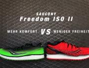 SAUCONY FREEDOM ISO 2 Mehr Komfort für weniger Freiheit - Der Laufschuhtest © stefandrexl.com
