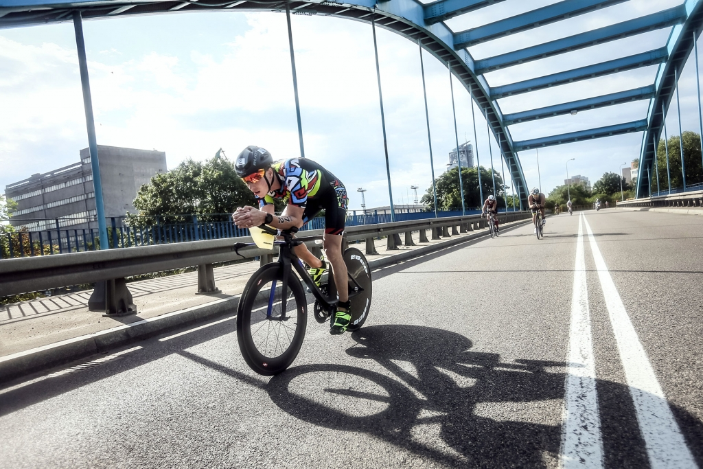 IRONMAN 70.3 SOUTH AFRICA Klodian Mitri is Back on Track for WC / my advantage was staying tucked aero for 95 percent of the race © klodian mitri