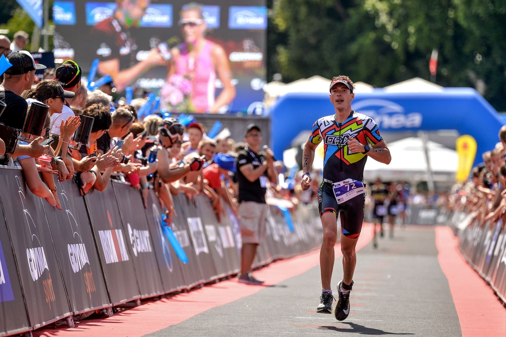 IRONMAN 70.3 SOUTH AFRICA Klodian Mitri is Back on Track for WC / Running in the gray area the entire run and being lucky to see the finish line © klodian mitri