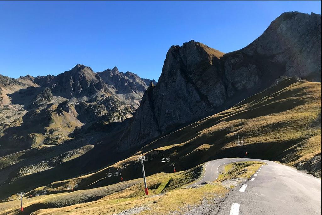 COL DU TOURMALET Ein Jugendtraum mit dem Rennrad / Das steilste Stück mit 15% kurz vor der Passhöhe © stefandrexl.com