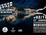 SUGAR & PAIN SWIMINAR #02/19 Das Schwimmseminar mit Videoanalyse - Besser Richtig Kraulschwimmen / FLYER @ Stefan Drexl