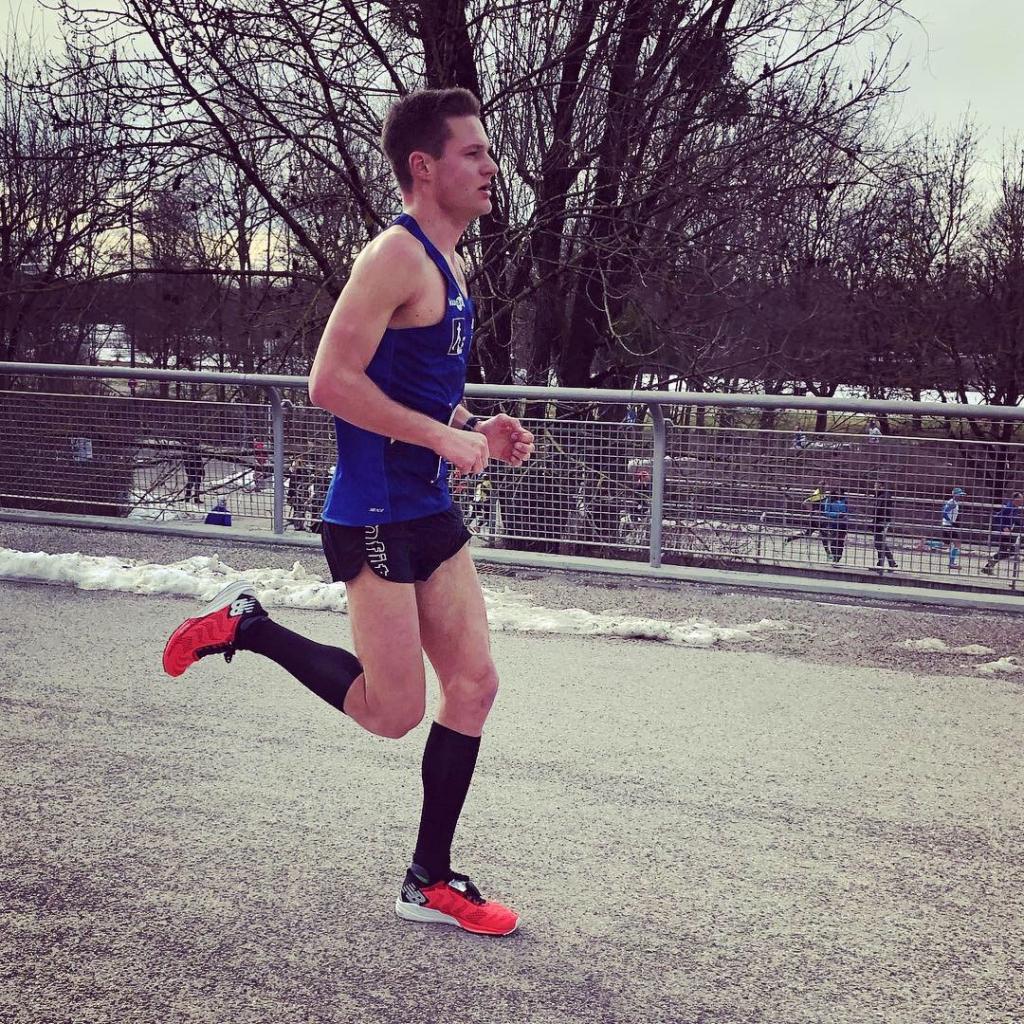 RUN 20K LAUFWINTER 2019 Starke Zeiten und ein dritter Platz / Sieger über alle drei Distanzen und in der Gesamtwertung, Julian Ehrhart © Kerstin Drexl