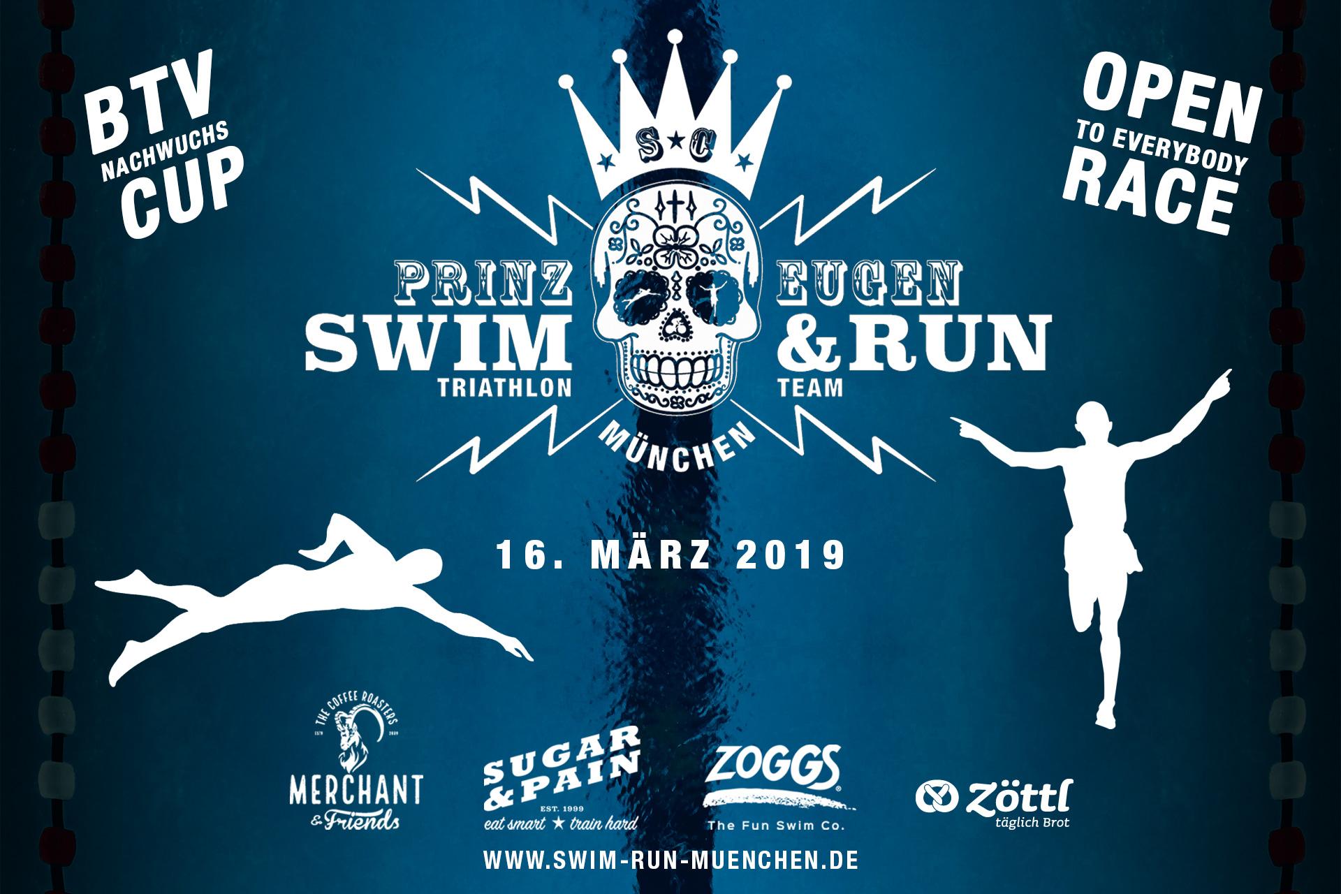 SWIM 'N' RUN MÜNCHEN Der perfekte Auftakt in die Triathlon Saison 2019 FLYER