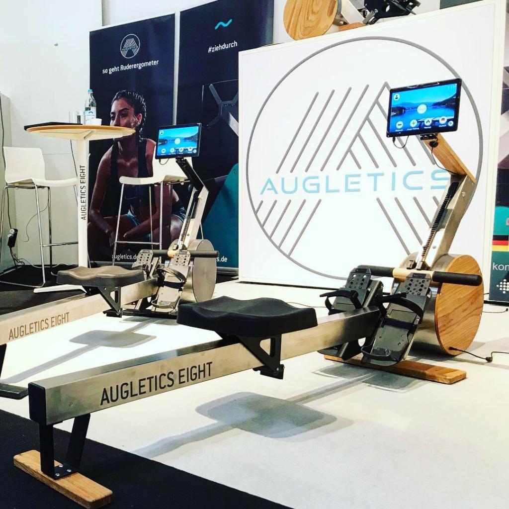 ISPO MUNICH 2019 Highlights / AUGLETICS bringt virutelle Ruder Reality ins Wohnzimmer © Stefan Drexl