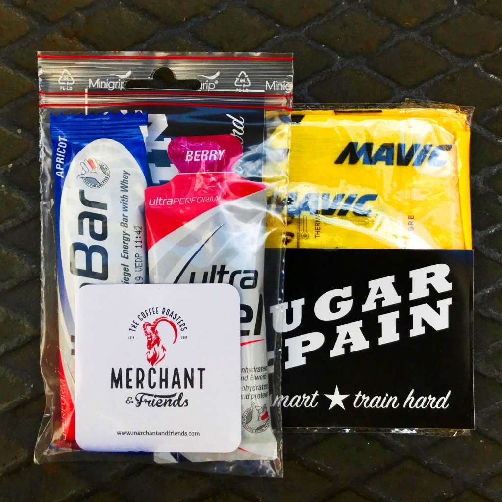 SUGAR & PAIN UNITY RIDE 2019 Mit Rennrad und Espresso / SUGAR & PAIN RIDE Kit © Stefan Drexl