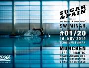 SUGAR & PAIN SWIMINAR #01/20 Das Schwimmseminar mit Videoanalyse für richtige Kraultechnik © Leo Müller