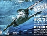 SUGAR & PAIN SWIMINAR #02/20 Richtige Kraultechnik – Das Schwimmseminar mit Videoanalyse / Titel © Stefan Drexl