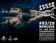 SUGAR & PAIN SWIMINAR #03/20 Richtige Kraultechnik – Das Schwimmseminar mit Videoanalyse / Titel © Stefan Drexl
