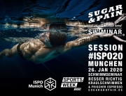 SUGAR & PAIN SWIMINAR #ISPO20 session / Richtig Kraulschwimmen Training & Vortrag © stefandrexl.com