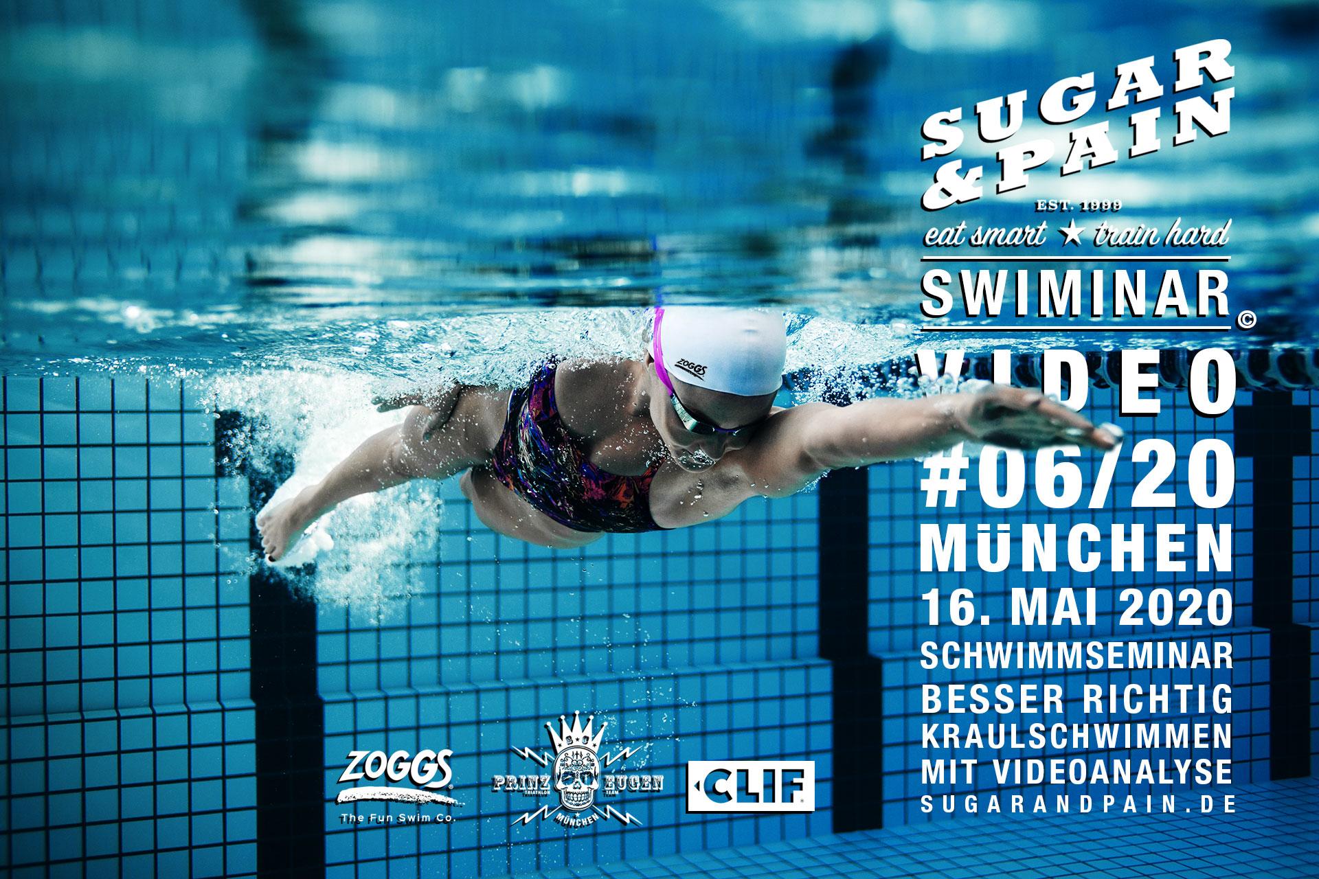 SWIMINAR #06/20 VIDEO Besser richtig Kraulschwimmen am 16. Mai 2020 TITEL © sugarandpain.de / Adobe Stock