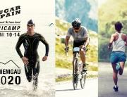 SUGAR & PAIN TRI CAMP #CH20 – Das Triathlon Traningslager im Chiemgau 2020 / Titel @ Stefan Drexl, Engadin Radmarathon, Adobe Stock